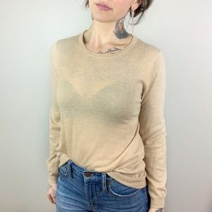 J. CREW COLLECTION Cashmere Featherweight Sweater